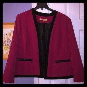 Pink and black blazer 18w Nipon Boutique